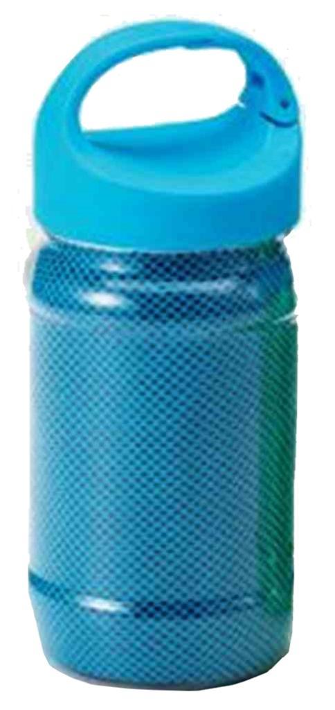 カラビナボトル付き清涼タオル JM-481 〔まとめ買い60個セット〕【代引不可】:フジックス
