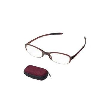 老眼鏡 シンプルビジョン コンパクト SV-401 WI +1.00 071547【代引不可】
