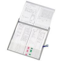 【送料無料】リヒトラブカラーカードインデックスA4ブルーHC112C-2