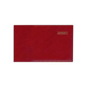 69b188ab017d まとめ買い)ダイゴー アドレス帳 ワイドアドレス 赤 G6931 〔5冊セット〕