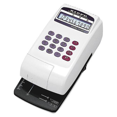 ニッポー チェックライター FXー45 FX-45 00024389