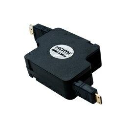 miyoshi(MCO)HDMI編碼再-rutaipuke-鬥牛犬HDMI-小HDMI 1.2m黑色HDM-HERC12/BK[貨到付款不可]