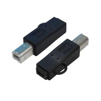 轉換大師轉換插頭 USB B (m)-> USBBA M5B 連接線 (女)