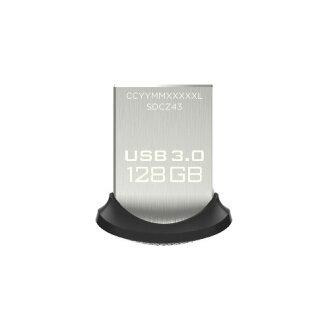 SanDisk USB3.0快閃記憶體128GB超合身USB存儲器130MB/s SDCZ43-128G-GAM46[貨到付款不可]