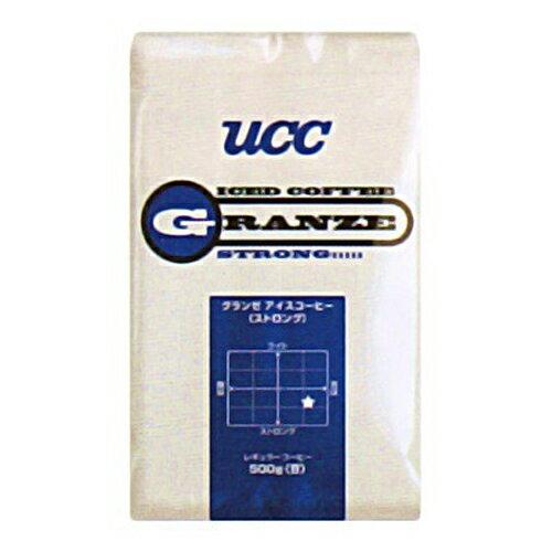 UCC上島珈琲 UCCグランゼストロングアイスコーヒー豆AP500g 12袋入り UCC301191000【代引不可】:フジックス