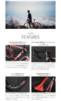 【送料無料】DOPPELGANGER(ドッペルギャンガー) 700C ロードバイク TARANIS 16段変速 アルミエアロフレーム D40-RD-v2 新着【】 走る喜びを喚起するアグレッシブロードバイク。