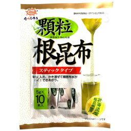 前島食品 たべたろう 顆粒根昆布 50g(10本) 10袋×4 【北海道・沖縄・離島配送不可】