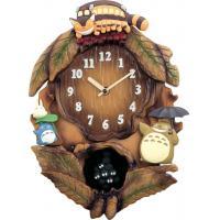 お部屋を彩る楽しいキャラクター時計【送料無料】トトロM837N 4MJ837MN06