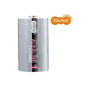 【送料無料】(まとめ)TANOSEE 単1形 アルカリ乾電池 2本入×50パック【代引不可】 電池 アルカリ乾電池