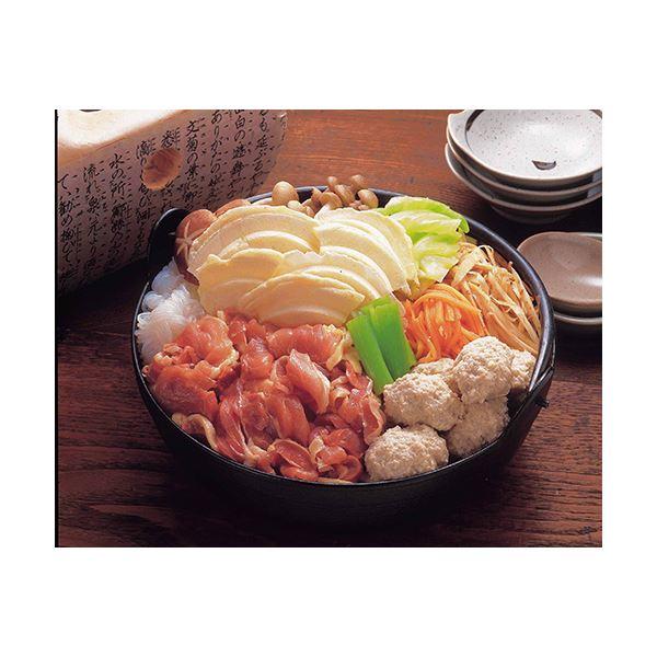 【送料無料】青森シャモロックせんべい汁セット 3セット【代引不可】