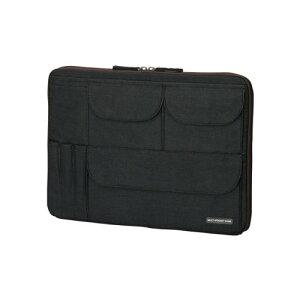 エレコム インナーバッグ UltraBook小物収納 13.3インチワイド ブラック BM-IBUB01BK【代引不可】