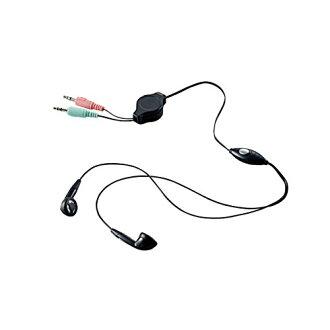 Elcom頭戴式受話器話筒兩耳朵內部年電話卷裝設1.05m HS-EP14BK