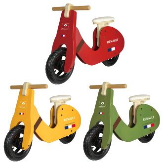 雷諾 (雷諾) 沒有木材平衡訓練自行車 (木培訓自行車)-只能站與踏板的自行車兒童自行車運動平衡自行車