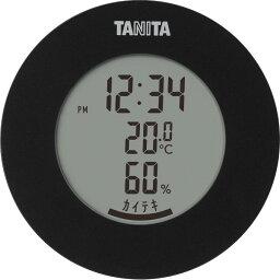 【ギフト】タニタ デジタル温湿度計 ブラック TT585BK 【北海道・沖縄・離島配送不可】