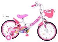 【送料無料】Mypallasマイパラスディズニー子供用自転車16・補助輪付プリンセスMD-08-PR