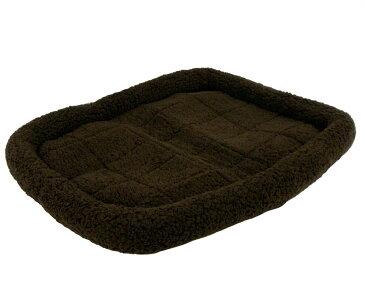ペットプロ 中型犬/大型犬用 マイライフベッド Lサイズ 79x60cm ブラウン ベッド ふわふわ 暖か シンプル 冬【代引不可】