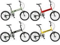 【送料無料】HUMMER(ハマー) 20インチ 折りたたみ自転車 6段変速 FDB206 W-sus【】 無骨でありながら惹かれるデザインそれがHAMMER流