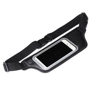 [郵件班次發送]供PGA iJacket SPORTS iPhone/智慧型手機/音頻播放器使用的運動式樣腰身門黑色PG-SPB02BK[貨到付款不可]