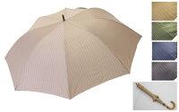 軽くて、小さくて、大きい雨傘紳士用70×8P.ストライプショートワイド548