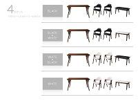 【送料無料】北欧モダンデザインダイニング【VILLON】ヴィヨン4点セット(テーブルW140+チェア×2+ベンチ)【チェア】ブラック×【ベンチ】ホワイト【】【10P20Oct14】