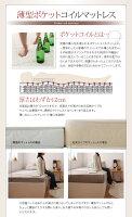 【送料無料】日本製棚・コンセント付き大容量すのこチェストベッド〔Salvato〕サルバト〔国産薄型ポケットコイルマットレス付き〕セミダブル〔フレーム〕ダークブラウン【】