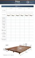 【送料無料】デザインボードベッド〔Bona〕ボーナ木脚タイプ〔マルチラススーパースプリングマットレス付き:シングル:フルレイアウト〕シングルフレームローベッド【】