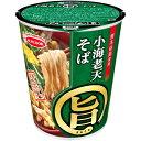 エースコック まる旨 小海老天そば 57g×12個入り (1ケース) (KK)
