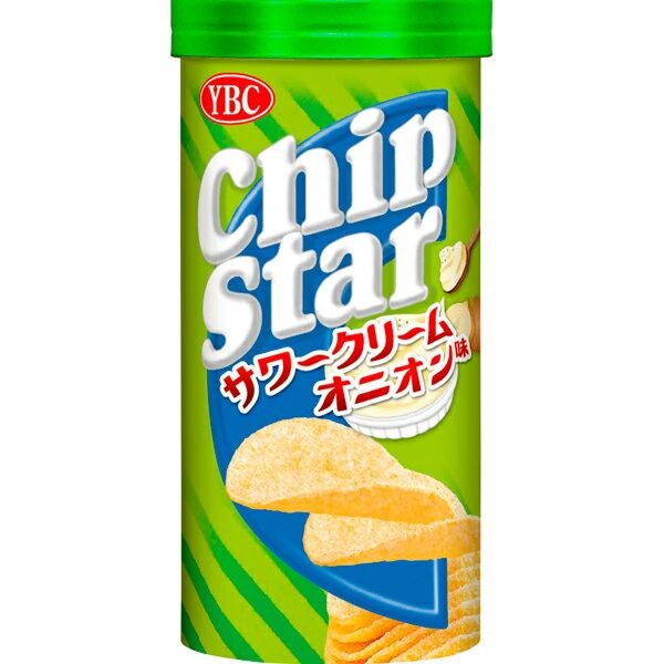 YBC チップスターS サワークリームオニオン味 50g×48個入り (1ケース) (YB)