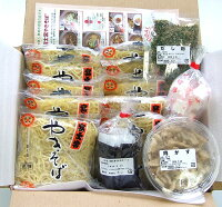 富士宮焼そば商品セット画像です。