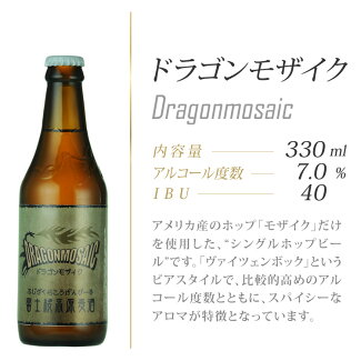 アメリカンホップ「モザイク」を使用したビールです