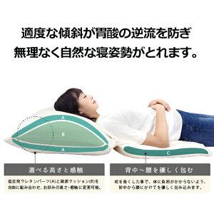 【逆流性食道炎対策の大型傾斜枕】スロープピロー