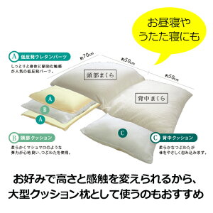 【逆流性食道炎対策の大型傾斜枕】スロープピローテンセル