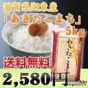 独特の粘り気のある食感。さめても美味しいのでおにぎり、お弁当に!「あきたこまち」滋賀県湖東産 白米 5kg 【23年産】