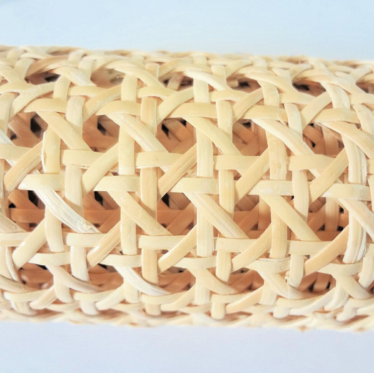 籐カゴメ編み8分の3 60cm幅 1m ブリーチ