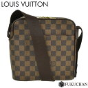 【LOUIS VUITTON/ルイ・ヴィトン】ダミエ・エベヌ オラフPM N41442 【中古】≪送料無料≫