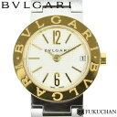 【BVLGARI/ブルガリ】ブルガリブルガリ レディース ウォッチ アイボリー ギョーシェ文字盤 S ...