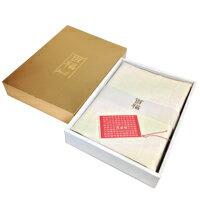 【送料無料】 百福シーツ 生成り セミダブルサイズ【お取寄品】2901000005331