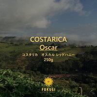 コスタリカオスカルレッドハニー250g