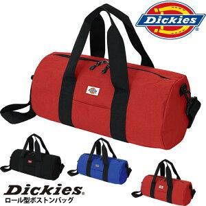 【ボストンバッグ】Dickies ディッキーズ ロール型ボストンバッグ【軽量】【カジュアル】【スクール】【トラベル】【キッズ】【ジュニア】【メンズ】【レディース】【スポーツ】【部活】【旅行】