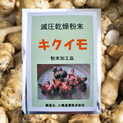 キクイモ/きくいも 粉末加工品 100g 国内産(岐阜県)100%使用〔減圧乾燥粉末〕〔菊芋 …