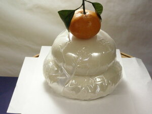 純白の鏡餅鏡餅・5合1重(パック)【鏡餅】