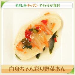 白身ちゃん彩り野菜あん/やわらか食、介護食、嚥下訓練にも(業務用・ご自宅用)