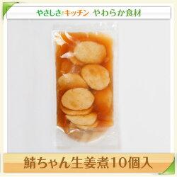 鯖ちゃん生姜煮10個入【/ふくなお亭、やわらか食、介護食、嚥下訓練にも(ご自宅用)】