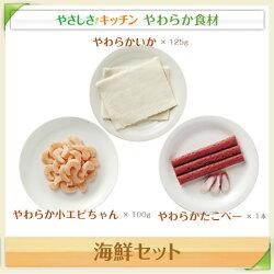 海鮮セット【/ふくなお、やわらか食、介護食、嚥下訓練にも(ご自宅用、贈り物ギフト)】