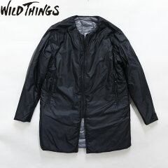 WILD THINGS/ワイルドシングス PRIMALOFT CREW SWEATER LONG/ プリマロフト インナーコート