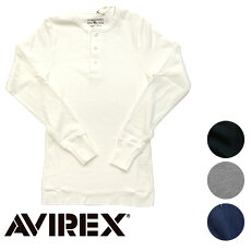 AVIREX/アヴィレックスL/STHERMALHENLEYNECKTEEヘンリーネックTシャツ6153516【smtb-m】【RCP】