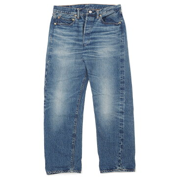WAREHOUSE 2ND-HAND 1100 テーパードジーンズ 1100 ユーズド加工
