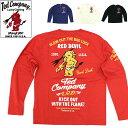 テッドマン 長袖Tシャツ 「RED DEVIL」 TDLS-314 エフ商会 TEDMAN