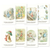 ピーターラビットポストカード(8種)