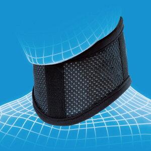 ブラックカラーでデザインされた頚椎装具です。メッシュ素材なので通気性が抜群☆代引き手数料...